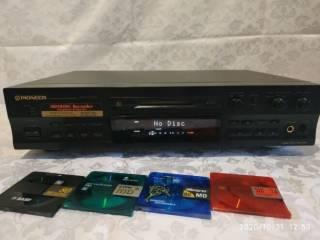 Запись на магнитную ленту и MD диски с винила 5
