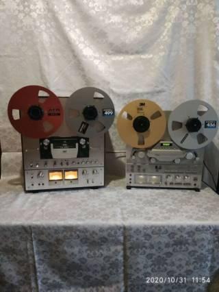 Запись на магнитную ленту и MD диски с винила 2