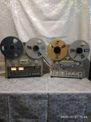 Запись на магнитную ленту и MD диски с винила 3
