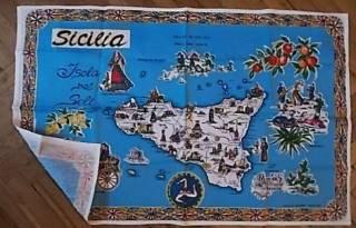 Полотенце Sicilia кухонное натуральный хлопок Cotton
