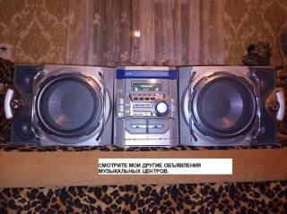 Музыкальный центр Sharp CD-M4000. AUX-BLUETOOTH-USB, MP3. 2