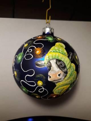 Продаются новогодние шарики ручной работы под заказ 3