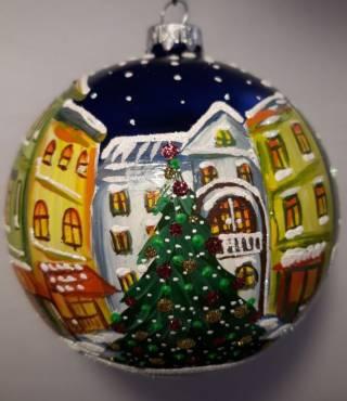 Продаются новогодние шарики ручной работы под заказ 6