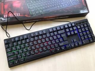 Профессиональная игровая клавиатура с подсветкой клавиш LANDSLIDES KR- 8