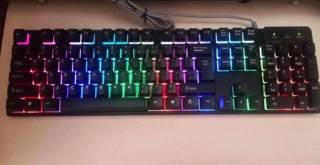 Профессиональная игровая клавиатура с подсветкой клавиш LANDSLIDES KR- 4