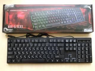 Профессиональная игровая клавиатура с подсветкой клавиш LANDSLIDES KR- 6
