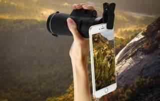 Монокуляр с треногой и клипсой Panda Vision 40×60 7