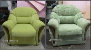 Перетяжка мягкой мебели 4