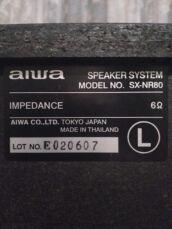 Музыкальный центр AIWA NSX-R81 Япония 2х100ват. 8