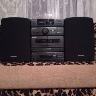 Музыкальный центр Panasonic SB-CH310 Mini Hi-Fi 60ват. 7