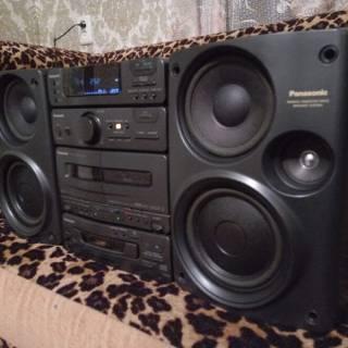 Музыкальный центр Panasonic SB-CH310 Mini Hi-Fi 60ват. 6
