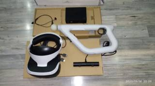 Sony PlayStation VR V2+Sony PlayStation VR AIM Controller 2
