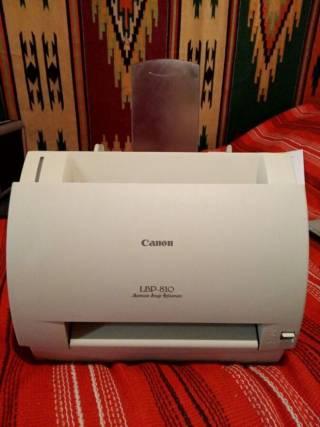 Принтер лазерный Canon Laser Shot LBP-810 Отличный