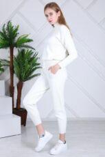 Женский теплый вязанный костюм Милена ХИТ 2021 года Турция фабрика 3