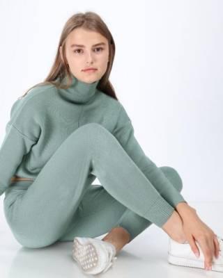 Женский теплый вязанный костюм Милена ХИТ 2021 года Турция фабрика 10