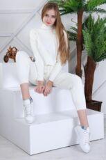 Женский теплый вязанный костюм Милена ХИТ 2021 года Турция фабрика 8