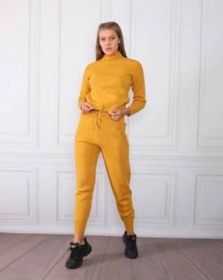 Женский теплый вязанный костюм Милена ХИТ 2021 года Турция фабрика 5