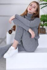 Женский теплый вязанный костюм Милена ХИТ 2021 года Турция фабрика 4