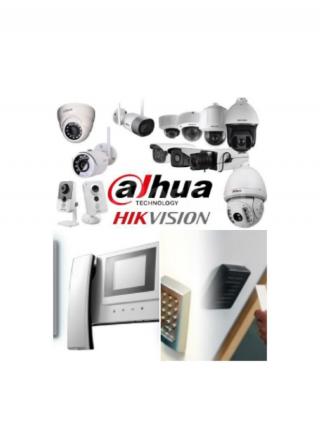 Монтаж видеодомофонов и систем контроля управления доступом (СКУД) 6