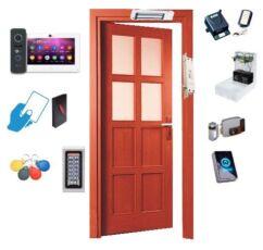 Монтаж видеодомофонов и систем контроля управления доступом (СКУД)