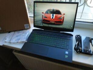 Ноутбук Hp i7-9750H RAM 16 ГБ GTX 1660 6 ГБ Pavilion Gaming 17-cd0013u 9