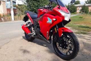 Мотоцикл Geon Tossa, масла та фільтр систематично міняю 5