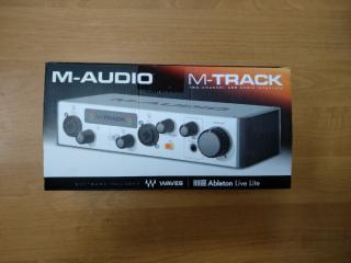 M-audio M-track 2 новая! 2999грн! 3