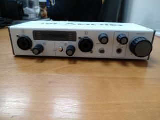 M-audio M-track 2 новая! 2999грн! 4