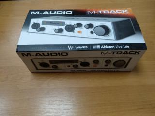 M-audio M-track 2 новая! 2999грн! 2