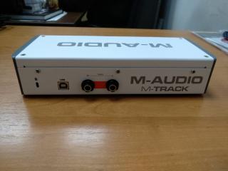 M-audio M-track 2 новая! 2999грн! 5