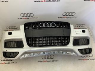 Запчасти AudiQ7 морда фари крилья капот бампер 2