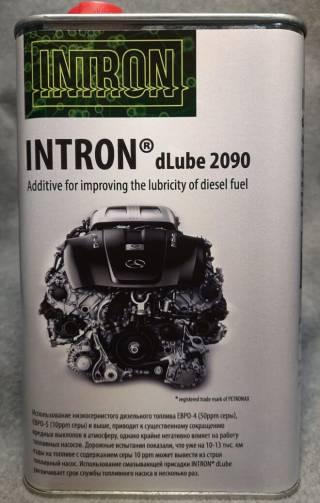 Intron dLubе 2090. Смазывающая присадка к дизельным топливам.