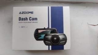 Видеорегистратор Azdome M11 с разрешением Full HD1080P GPS