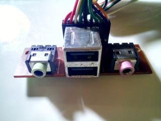 Плата системного блока компьютера USB аудио микрофон 2