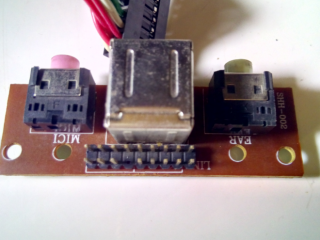 Плата системного блока компьютера USB аудио микрофон 5