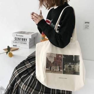 эко сумка с картинами, Шопперы, торба, сумка для покупок, экосумка 2