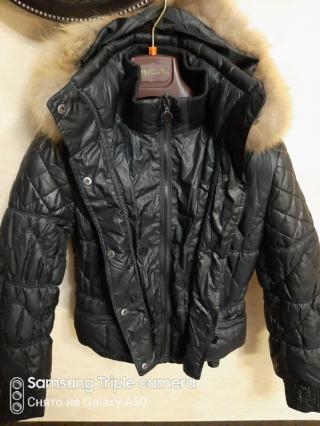 Куртка теплая размер s 6