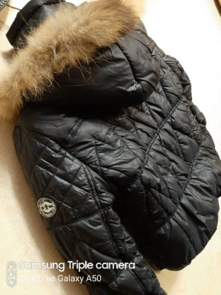 Куртка теплая размер s