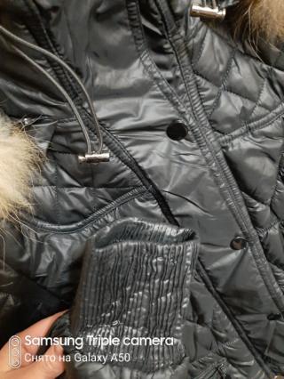 Куртка теплая размер s 4