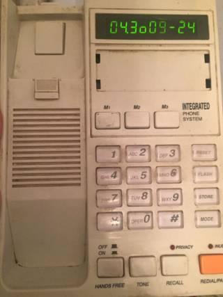 Телефон Casio  стационарный 6