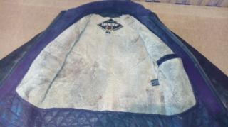 Курточка мужская кожаная 2