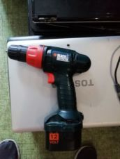 Шуруповерт black and decker cd12c
