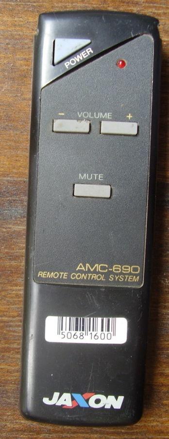 Продам ПДУ от музыкального центра Jaxon AMC-690