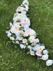 Свадебное украшение для авто/на машину/ букет/ цветы/ экибана/ квіти