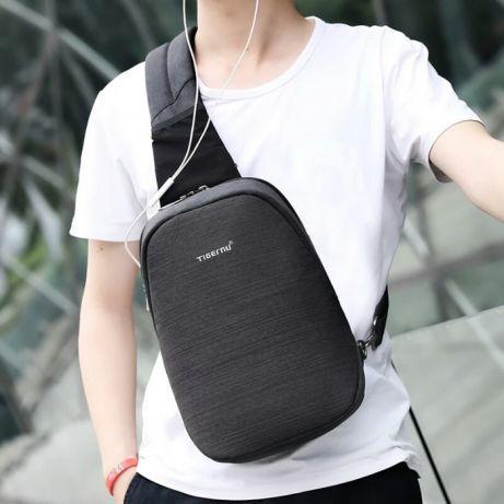 c852643d201f НОВИНКА! Мужской однолямочный рюкзак Tigernu Сумка-слинг: 580 грн ...