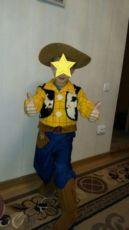 Маскарадный костюм ковбой Вуди история игрушек