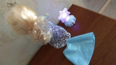 Disney кукла Дисней Эльза Холодное сердце Северное сияние лялька поет 4