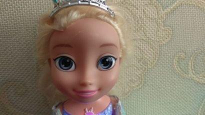 Disney кукла Дисней Эльза Холодное сердце Северное сияние лялька поет 3