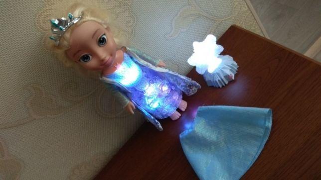 Disney кукла Дисней Эльза Холодное сердце Северное сияние лялька поет