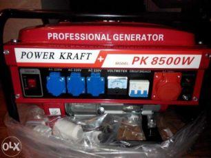 Генератор бензиновий power kraft pk 8500 w хороша оптова ціна від 5шт.